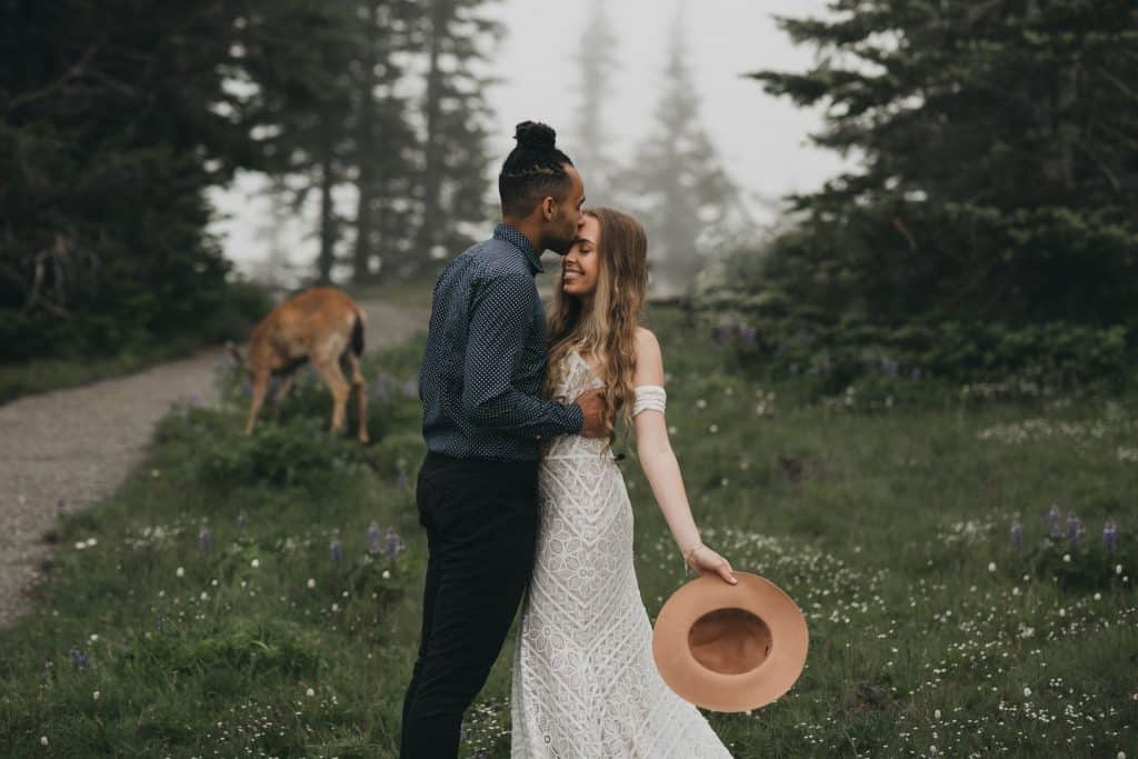 Olympia, wa wedding photo